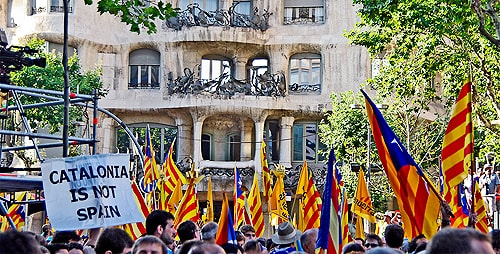 Support for Catalan independence has more than doubled since 2005. [Image: Flickr/SBA73, used under the Creative Commons licence]
