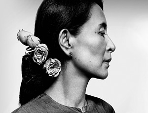 Aung San Suu Kyi has become a major symbol of democracy around the world.