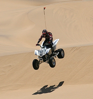 Most deaths from quad bike accidents are completely preventable, says Dr Tony Lower. [Image: Ltz Raptor, used under the Creative Commons licence]