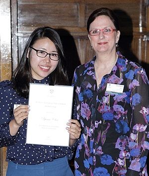 "South Korea 's Yun-Sir Choi (left) came to Australia to study veterinary science. ""There is so much more wildlife here, so there's more opportunity to study and practise as a wildlife vet,"" she said."