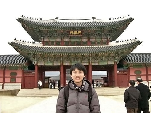 As part of his degree, Philip Chan travelled to Seoul for an internship at the Australian embassy and a leading Korean newspaper