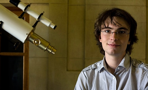 PhD student Ben Pope received the highest award given by the Astronomical Society of Australia for research conducted by an honours student.