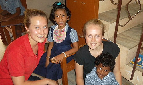 Dr Dale Larsen's donation will support the Faculty of Health Sciences Abroad program, which helps students work on development initiatives in Nepal, Cambodia, India and Vietnam.