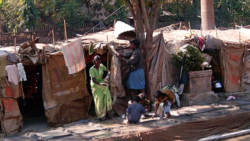 Microfinance projects with relatively high interest rates are targeted at India's poorest.