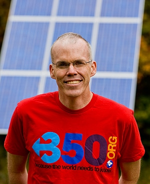 "Bill McKibben: ""Climate change, after all, is basically a big maths problem."""
