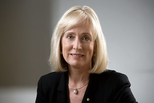 University of Sydney Chancellor Belinda Hutchinson was named the most influential woman in the Board/Management category of the Australian Financial Review and Westpac Group 100 Women of Influence awards.