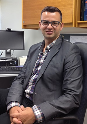 Dr Anthony Santella is leading a study into the attitudes of pharmacists and dentists on offering rapid HIV testing.