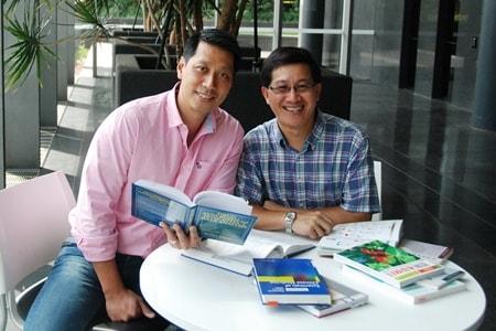 Drs Simon Poon and Josiah Poon Data Analytics experts
