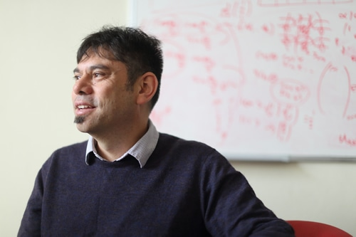 Dr Aldo Saavedra, an experiment physicist working on the ATLAS experiment