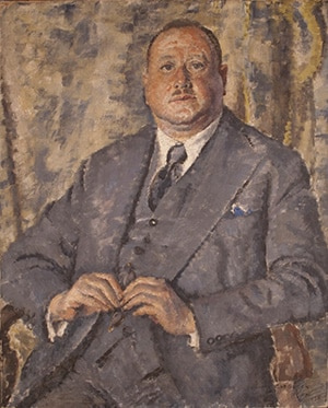 "Dr Norman Haire left his estate, including this portrait, to the University of Sydney to ""upset the wowsers"". Cathleen Mann (1896 - 1959), Portrait of Dr Norman Haire, 1938, oil on canvas, University Art Collection."