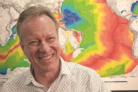 Professor Dietmar Muller - mapping the seafloor from space