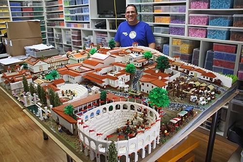Lego Pompeii to erupt at the University of Sydney - News and ...