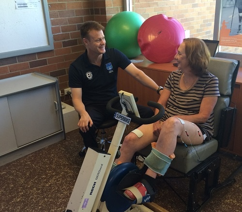 Exercise bike pedals hope for people with MS - News and