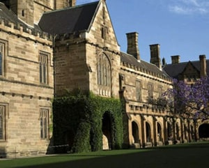The historic University Quadrangle
