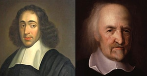 spinoza and hobbes