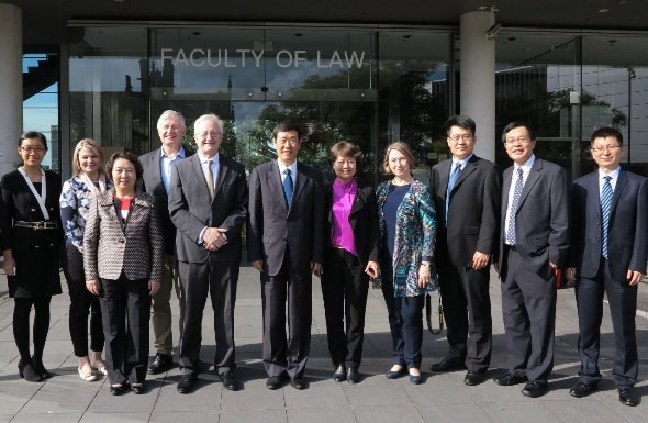 Senior Judges from the Supreme People's Court of China Visit Sydney