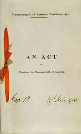 Commonwealth of Australia Constitute Act