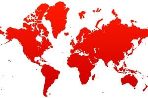 global map (red and white)