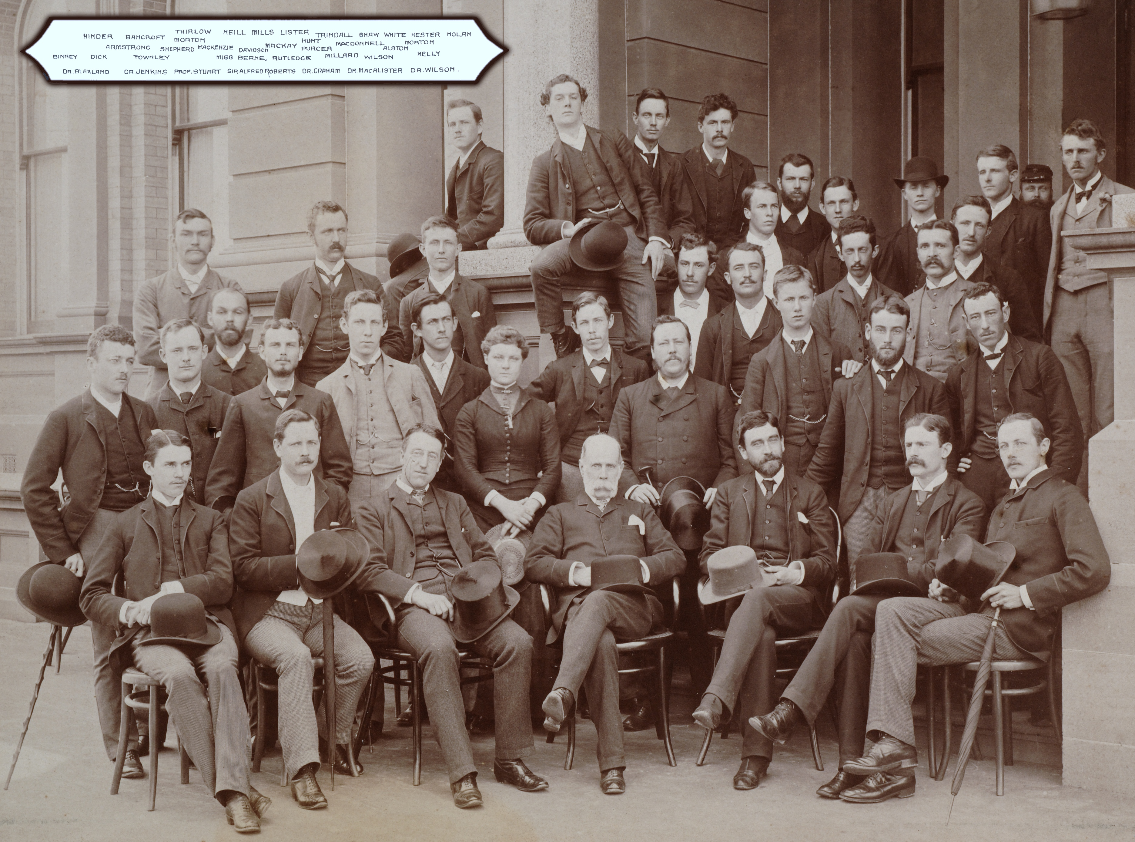 Medical students 1887