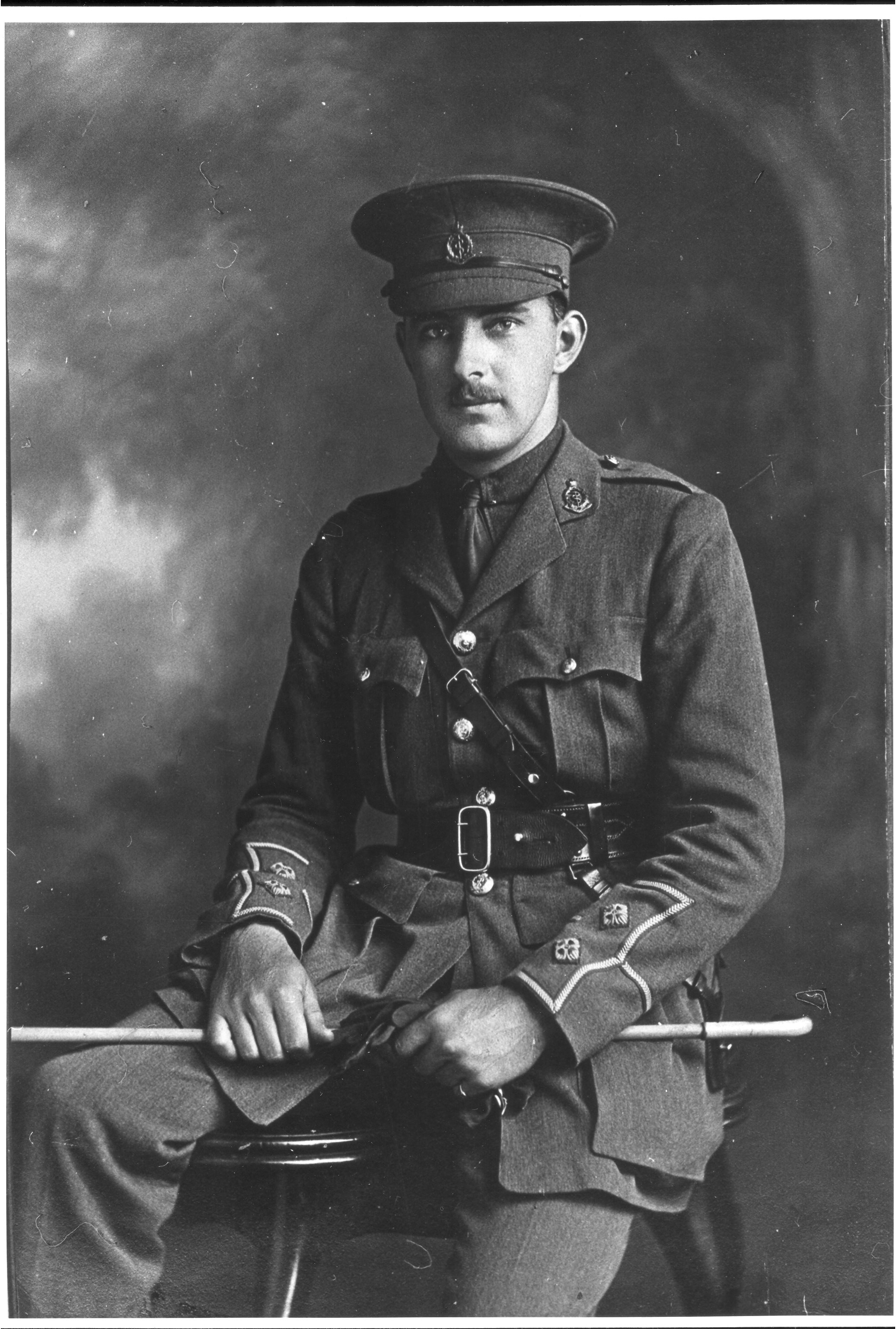 Norman Gregg in WW1 military uniform, Copyright University of Sydney