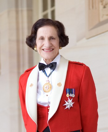 Her Excellency Professor Marie Bashir in military uniform, Copyright NSW Governors Office
