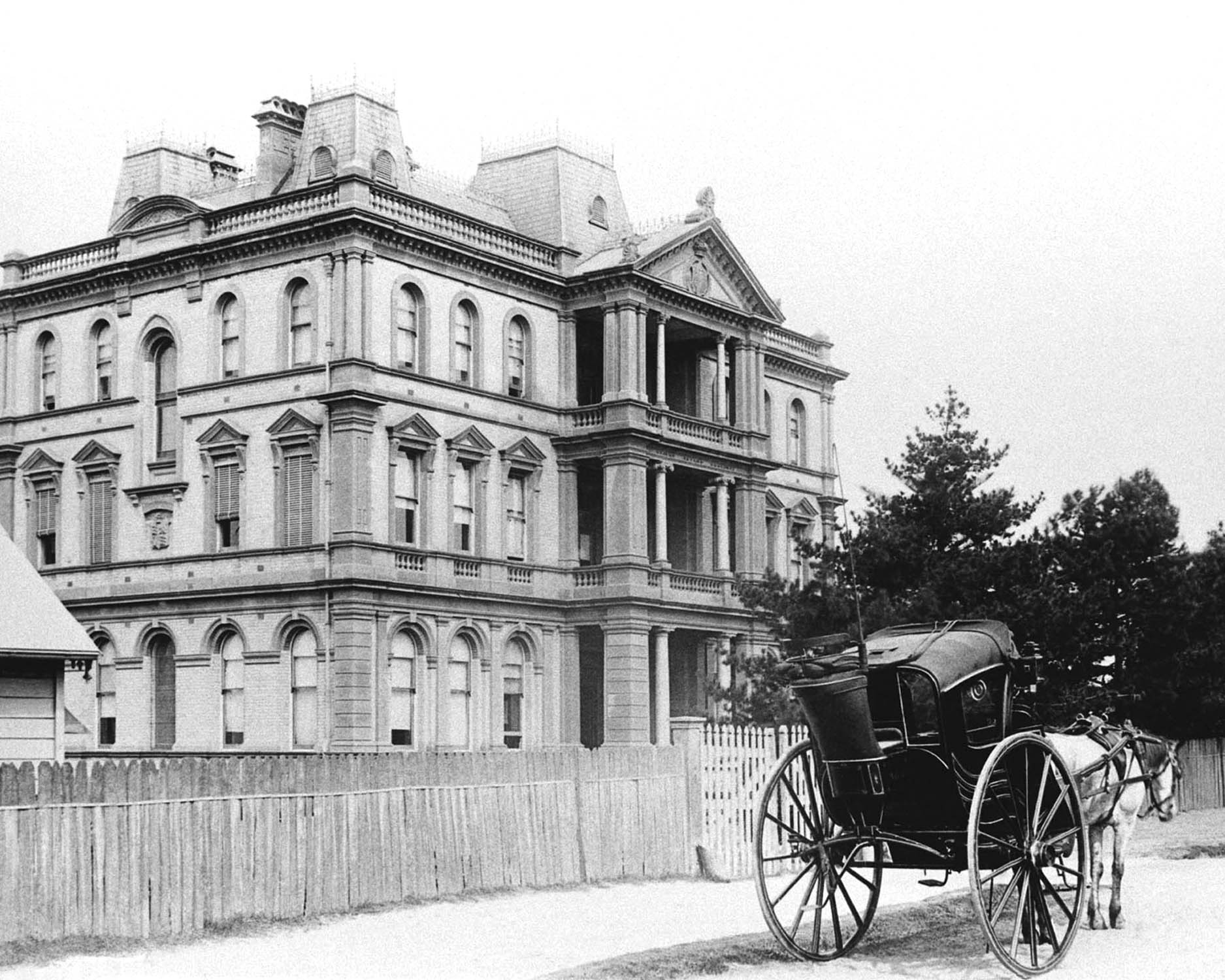 First Administration Block Royal Prince Alfred Hospital 1883