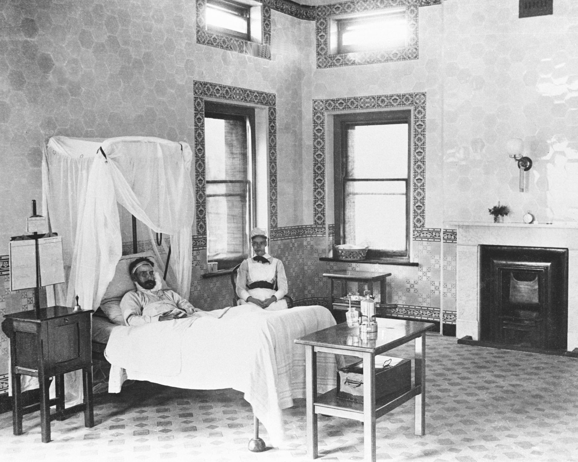 Early Infectious Diseases ward at Royal Prince Alfred Hospital