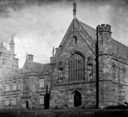 University of Sydney, view toward Great hall and north range from east.