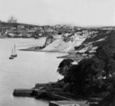 Sydney: View of the Observatory from the North Shore. (Kirribilli).