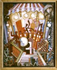 The Band, c.1929, oil, Bequest of Edith Power 1961