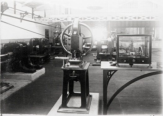 Interior of the Sydney Branch of the Royal Mint