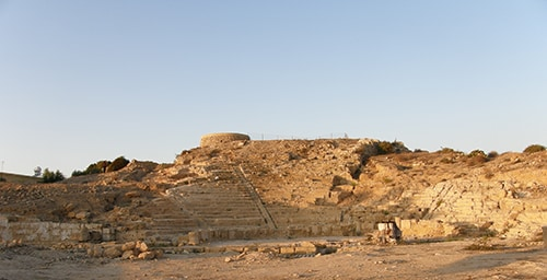 theatre at Paphos, Cyprus