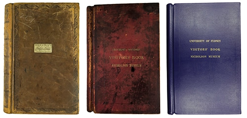 visitor books covers
