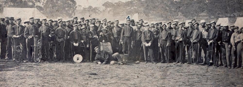 Australharmony - Register of British military bands in Australia