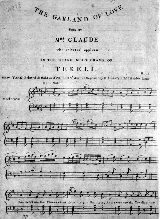 The Garland Of Love Sung By Mrs Claude With Universal Applause In Grand Melo Drame Sic Tekeli New York J Willson Nd Courtesy: Soft Kitty Sheet Music Print At Alzheimers-prions.com