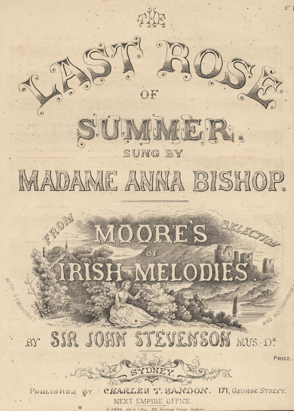 59f04f2b9 The last rose of summer, sung by Madame Anna Bishop (Sydney: Sandon,