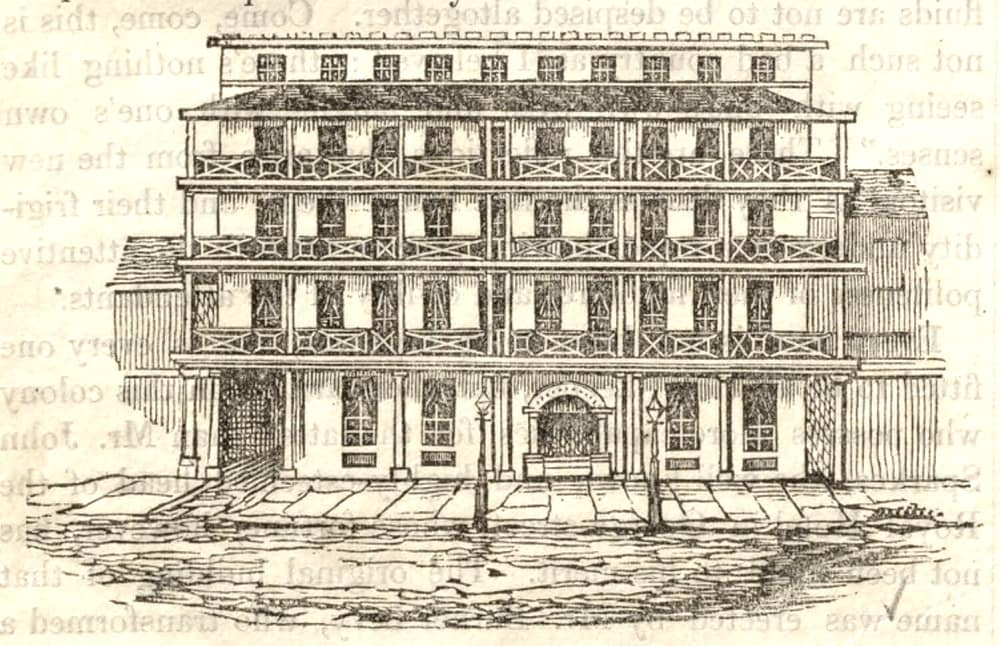 Royal Hotel, George Street, Sydney; Heads of the people (18 March 1848), 2