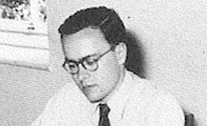 Dr Graham Derrick in the 1950s