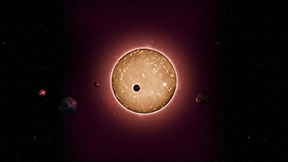 Credit NASA . Kepler 444 and inner system planets