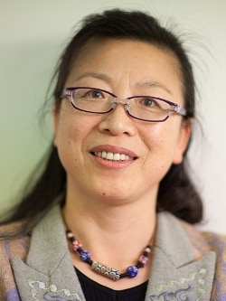 Associate Professor Min Chen, winner of the Robin Hill and Peter Goldacre Awards