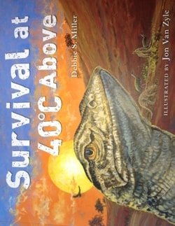A new children's book exploring the ecology of the Australian desert