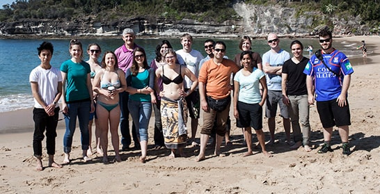 Warrah 2013, Postgraduate Students Weekend with Murray lecturer Dr Bruce Stillman