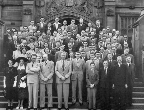 School of Chemistry group photo, taken in 1950