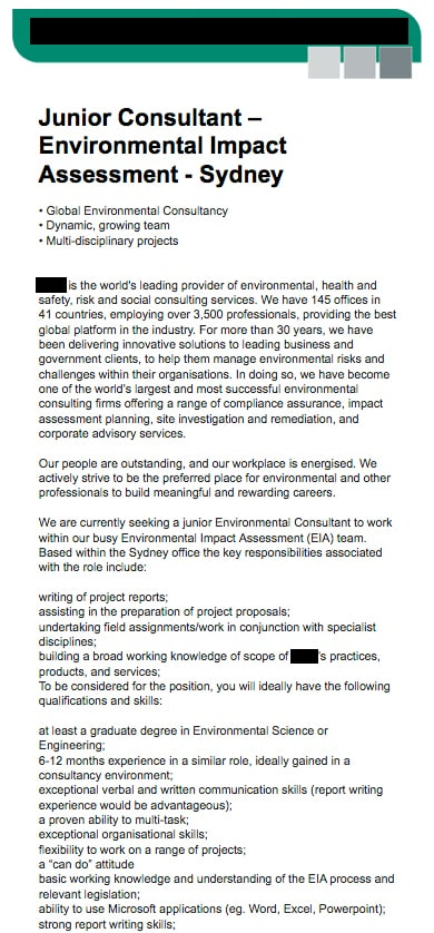 Environmental Science writing companies