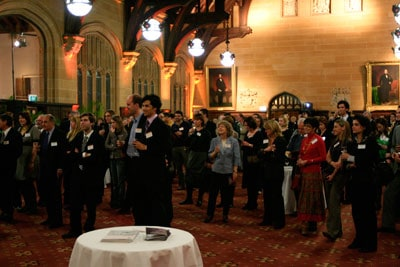 Celebrating Success, held in the University's beautiful MacLaurin Hall, brought together 250 guests including the celebrated Faculty of Science staff, science media, industry leaders, science alumni and school science teachers.