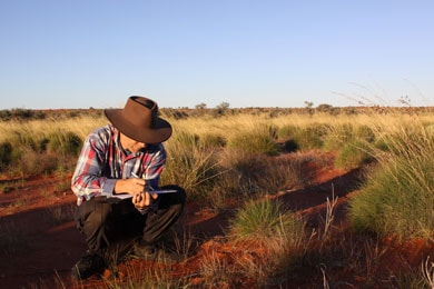 Unique dataset: Professor Chris Dickman and the University of Sydney's Desert Ecology Research Group have been studying the Simpson Desert for 20 years.