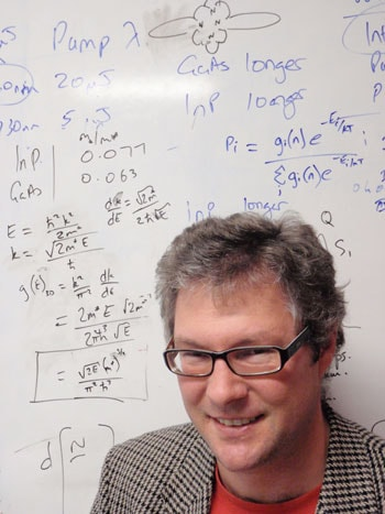 Dr Tim Schmidt is the first scientist working in Australia to win the Coblentz Award from US vibrational spectroscopy association, the Coblentz Society. He will receive his award and deliver his Coblentz Award Lecture in June 2010 at the Ohio State University International Symposium on Molecular Spectroscopy.