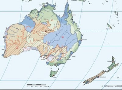 Associate Professor Patrice Rey and Professor Dietmar Müller, from the School of Geosciences, have created a mathematical computer model that calculates the immense forces of nature that tore New Zealand away from Australia 100 million years ago.