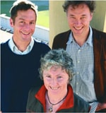 Professor Manfred Lenzen, Dr Christopher Dey and Dr Joy Murray - finalists in the Eureka Prize for Innovative Solutions to Climate Change category.