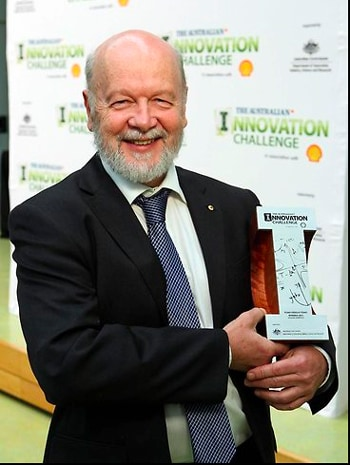Professor Rick Shine, from the School of Biological Sciences, won the Environment award in the Australian Innovation Challenge.